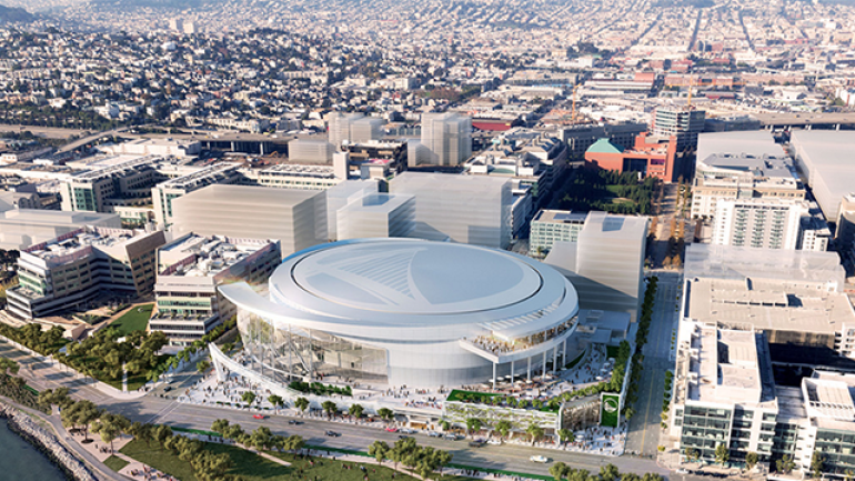 Warriors are one step closer to moving to new arena in San Francisco - CBSSports.com