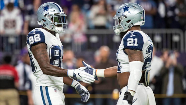 Watch Michael Irvin Is Excited About Dez Bryant Historic Td