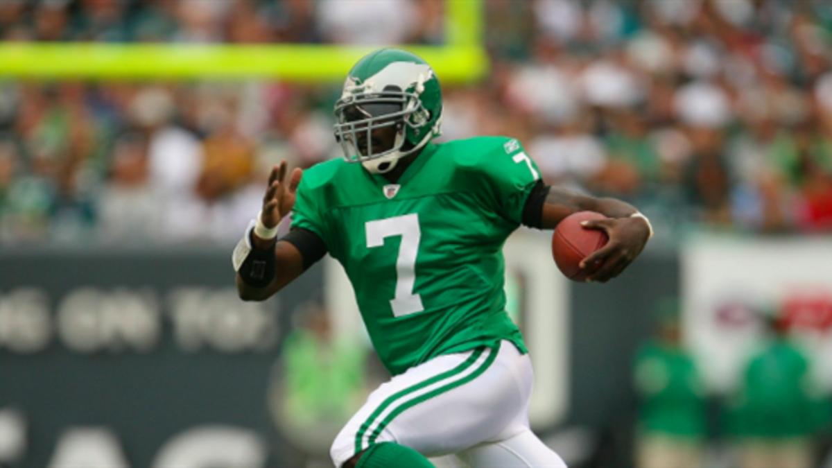 kelly green eagles jersey