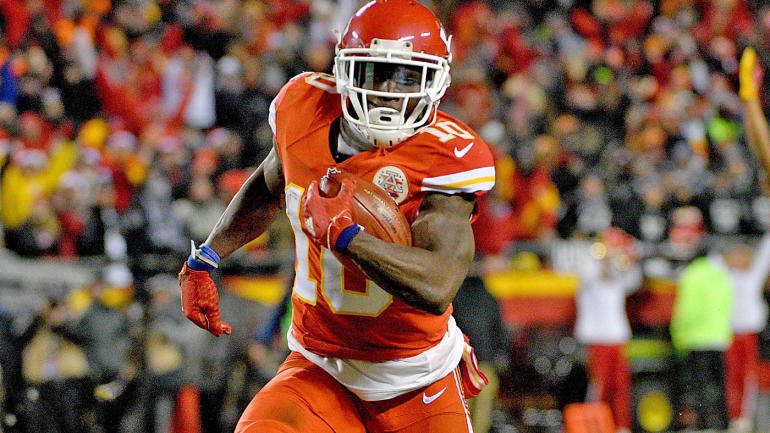 Chiefs' Andy Reid wants to get Tyreek Hill more involved in the offense