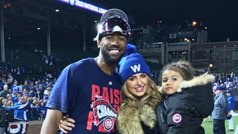 LOOK: Dexter Fowler's wife thanks city of Chicago and Cubs ...