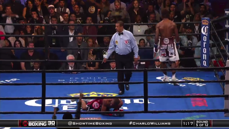 watch  jermall charlo scores vicious knockout win  calls