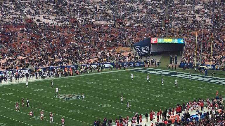 LOOK: The Rams are already drawing really small crowds in ...