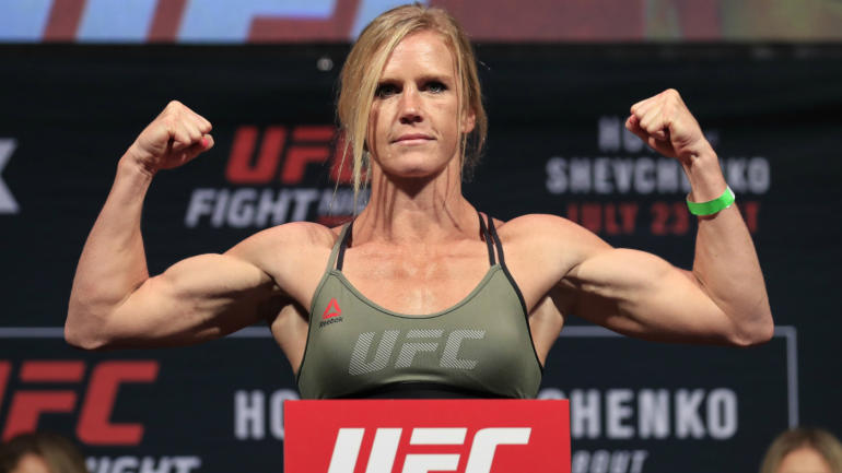 UFC 208: Holly Holm to fight for first women's ...