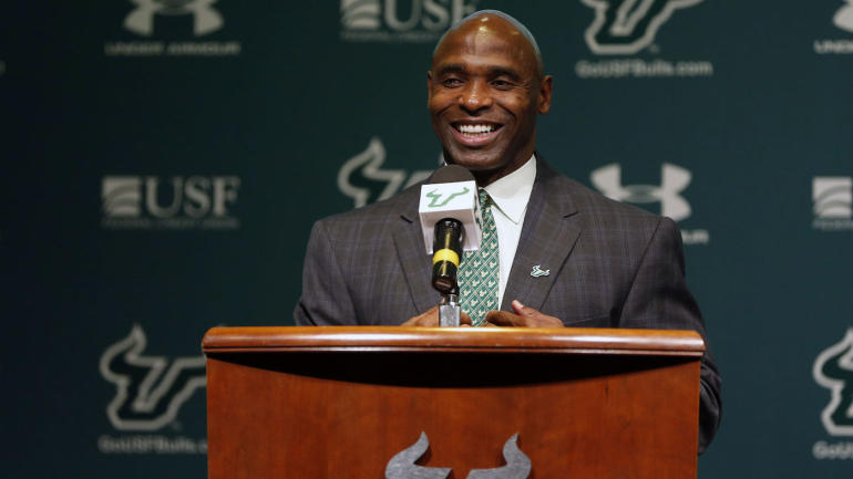 After getting the boot at Texas, Charlie Strong focuses on rebirth at South Florida