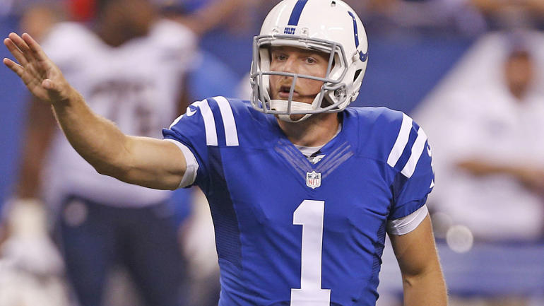 best cheap 75532 65bdb Former Indianapolis Colts punter Pat McAfee agrees to multi ...