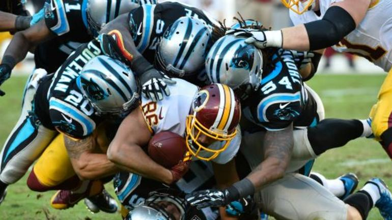 cef1e04c683fb Jordan Reed injured on cheap shot from Carolina Panthers. Just when you  thought things couldn t ...