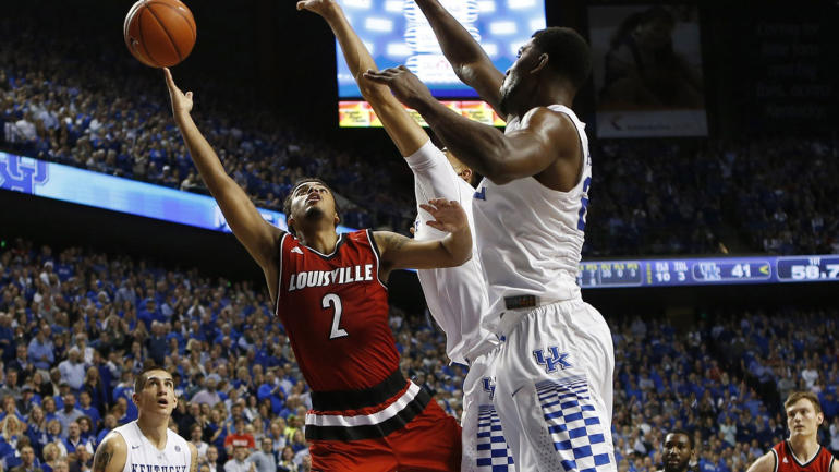 College basketball rankings no 9 louisville vs no 6 uk could