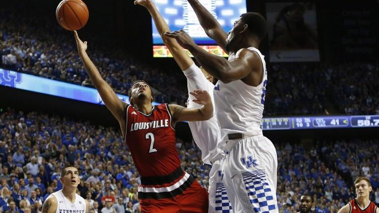 College basketball rankings: No. 9 Louisville vs. No. 6 UK ...