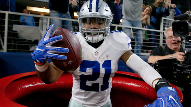 cheaper 12b62 8a200 Look: Young Ezekiel Elliott fan gets awesome custom jersey ...