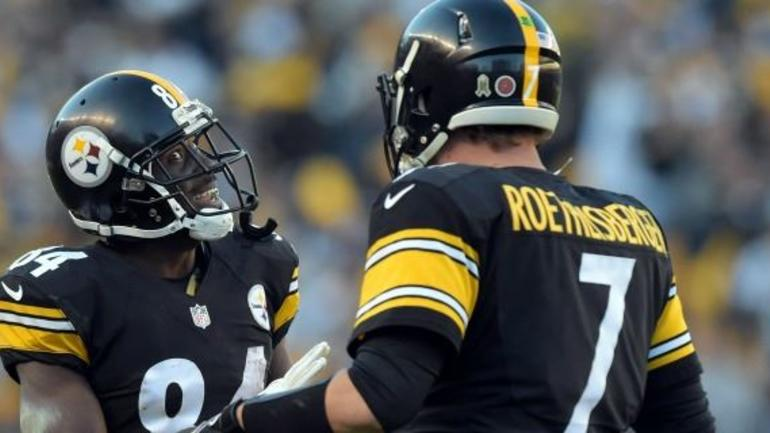 fd91aa6e5 Antonio Brown has another 50 touchdowns left in him playing alongside Ben  Roethlisberger. Pittsburgh's five time Pro Bowl receiver made that clear  shortly ...