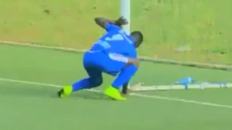WATCH: Fight nearly breaks out after soccer player uses witchcraft to score goal