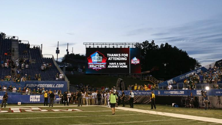 Pro Football Hall of Fame game won't be played on a Sunday ...