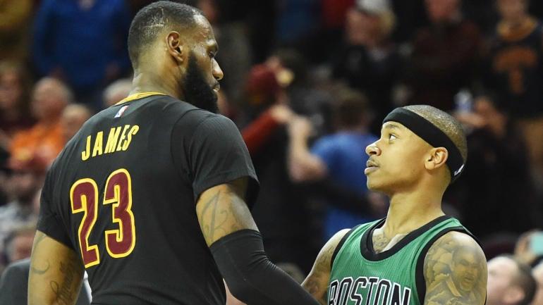 Cavs' LeBron James says the Celtics absolutely have a star: Isaiah ... Lebron James Football