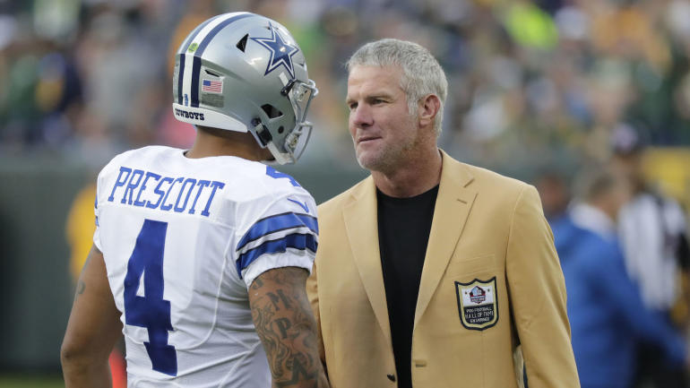 Brett Favre says the Packers, not the Cowboys, are