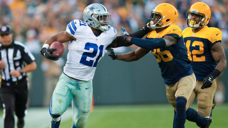 Image result for ezekiel elliott packers