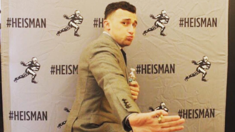 Johnny Manziel makes conference title game picks, hints at possible NFL return