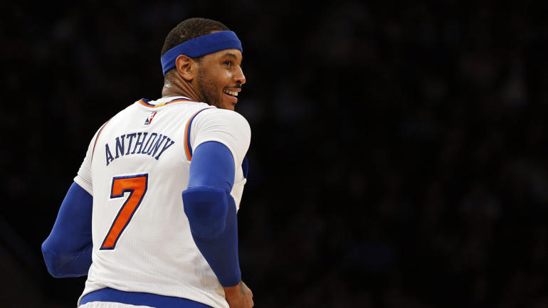 Carmelo Anthony: 'If they feel like my time in New York is over,' then it's time to talk