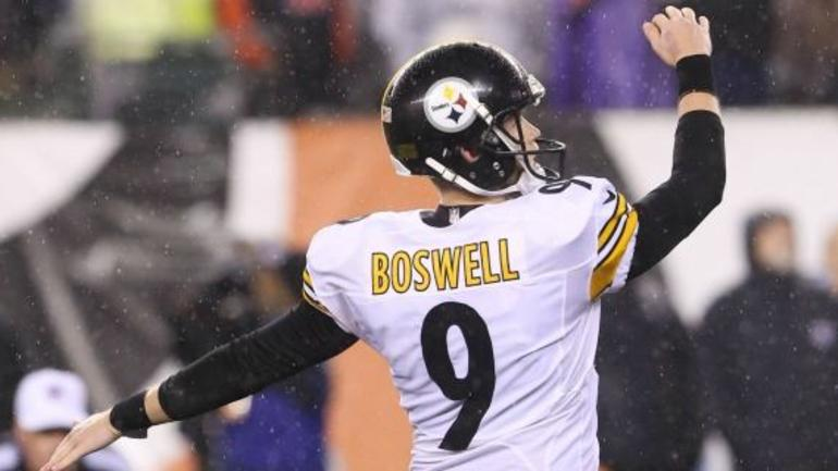 Chris Boswell NFL Jersey