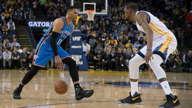 """After it was leaked that Warriors find Russell Westbrook """"easy to guard"""", Westbrook average 34/9.5/9 in 57.5% TS against the Warriors.Thunder won both games against the Warriors by a combine margin of 37  Another interesting fact? Russell averages his highest ppg against the Warriors this season.   Russell looks like a Warrior killer out there.  For the link of the article:  https://www.cbssports.com/nba/news/the-warriors-reportedly-think-russell-westbrook-plays-a-style-thats-easy-to-guard/"""