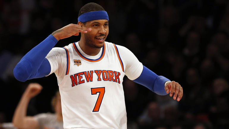 Carmelo Anthony may have changed his mind about waiving his no-trade clause