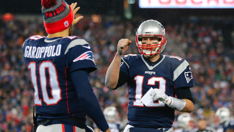 Tom Brady quotes 'The Hangover' when talking about Pats QB's
