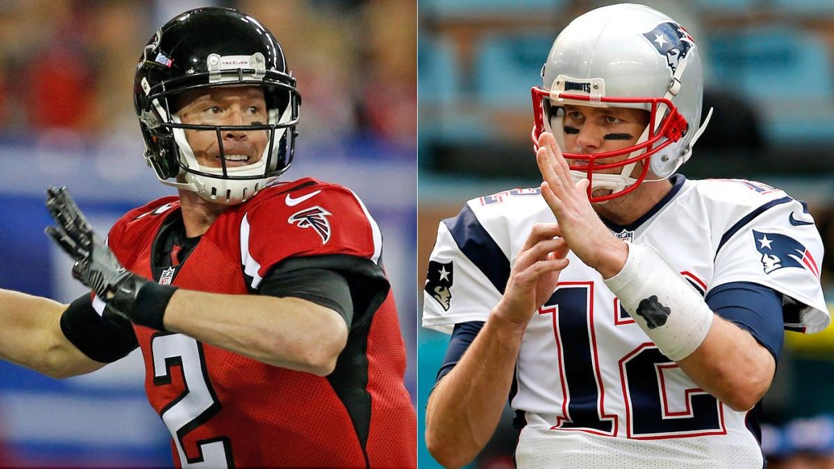 7ea87e18947 2017 Super Bowl uniforms: Patriots get 'lucky' white jerseys after Falcons  go red - CBSSports.com