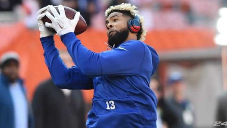 online store ba0f3 66eb8 Check out Odell Beckham Jr.'s custom Pro Bowl cleats ...