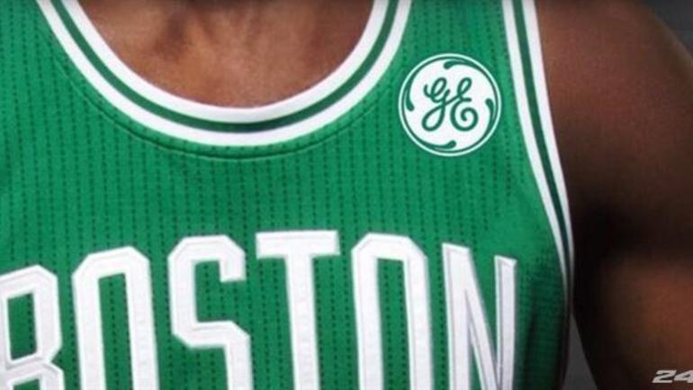 Boston Celtics agree to jersey partnership with General Electric ... 0541c7f71