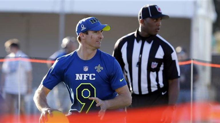 half off 6b734 3a27f Drew Brees named NFC captain for 2017 Pro Bowl - CBSSports.com