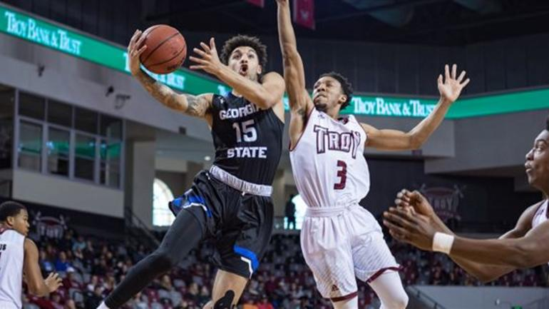 66d64b1f Panthers Win Fifth Straight dropping Troy 78-72 - CBSSports.com