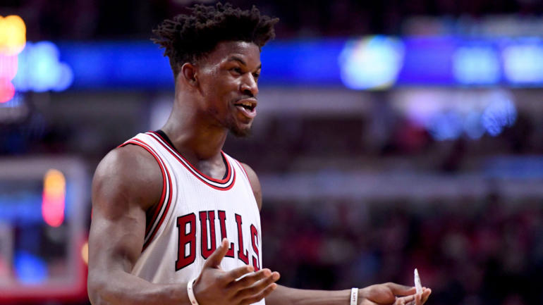 the best attitude 3a70e fb41f Jimmy Butler won t confirm or deny Bulls threatened to bench him in 2014-15  - CBSSports.com