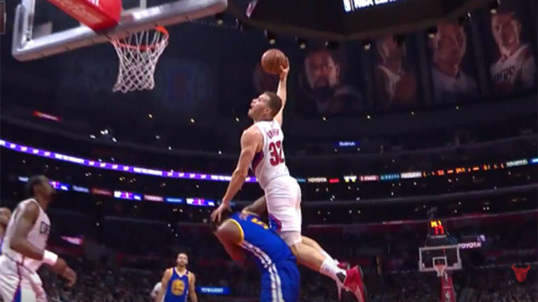 LOOK: Blake Griffin turns back clock with vicious dunk ...