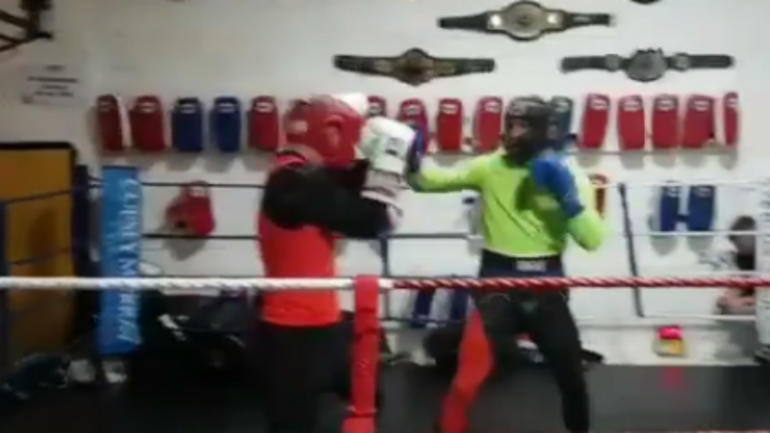 WATCH: UFC champ Conor McGregor escalates boxing rumors with training video