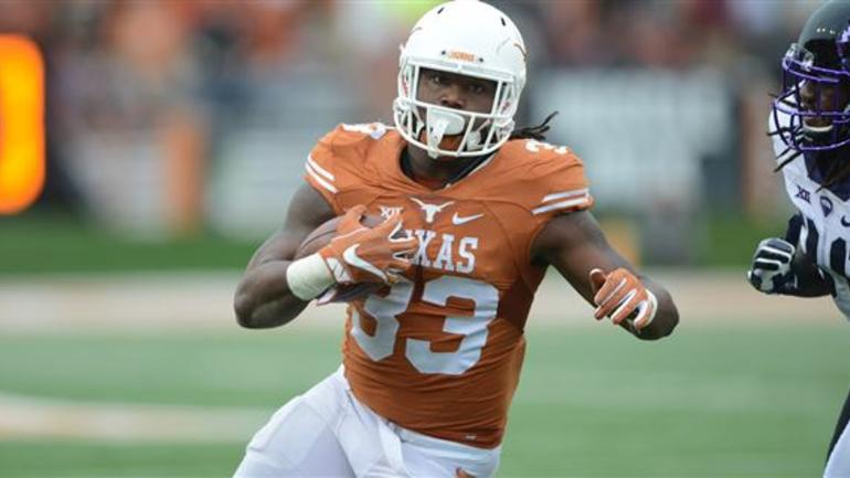 Texas RB D Onta Foreman will meet with Steelers on Thursday ... e48b02360