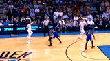 Westbrook gets assist with Durant guarding him
