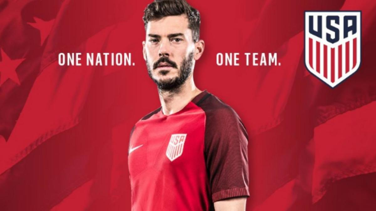 best authentic a8936 c81d4 LOOK: U.S. Soccer unveils new red Nike jerseys for USMNT ...