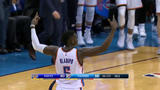 Russ records another triple-double in comeback win