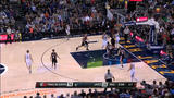 Dante Exum dunks on Blazer's defender