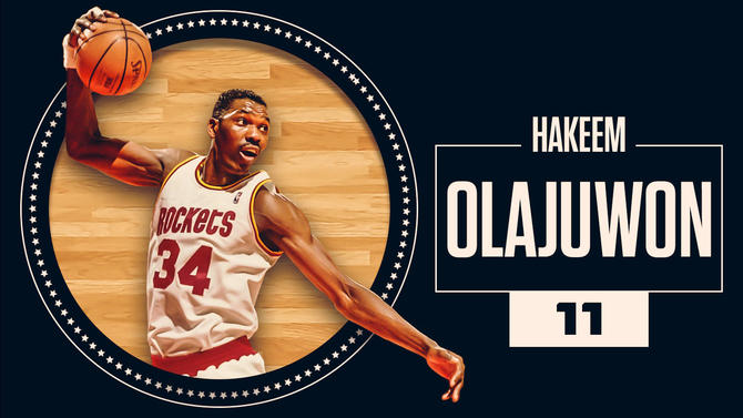 CBS Sports' 50 greatest NBA players of all time: 20 Year Update Olajuwon-11