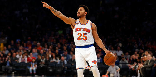 Derrick Rose at Madison Square Garden
