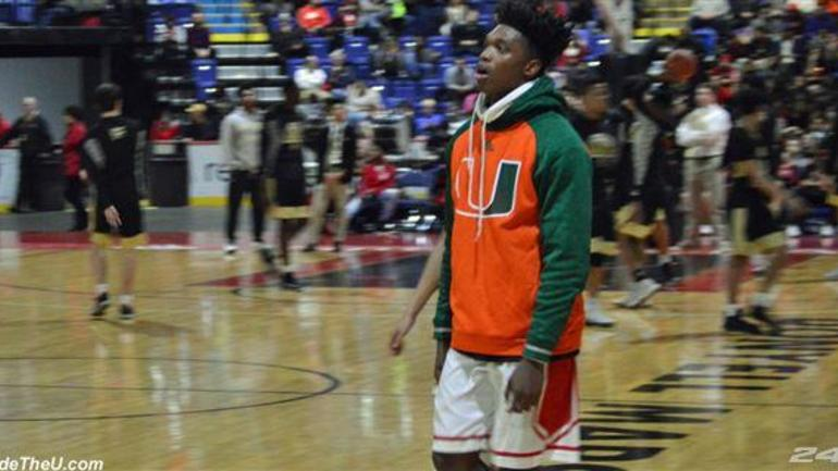 384988b1529 Live Updates  SG Lonnie Walker in BCIAA Championship. Miami five-star signee  ...