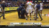 Scary moment for Bob Huggins during Texas-West Virginia game