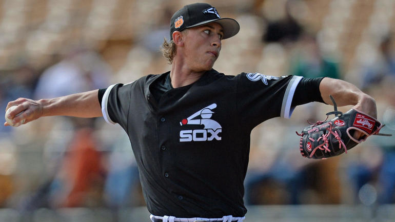 Spring Training: White Sox prospect Kopech lights up radar ...