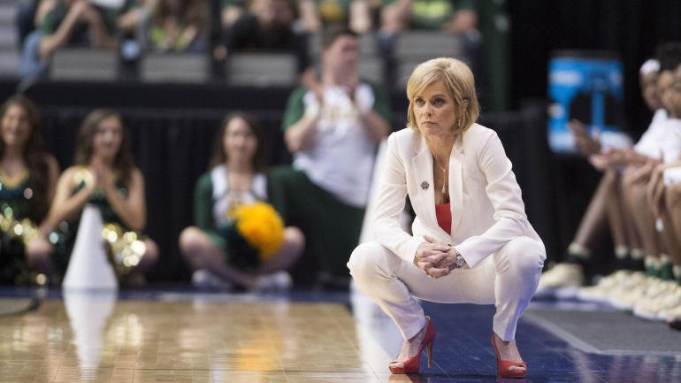 Baylor's Kim Mulkey issues tearful apology for 'choice of ...