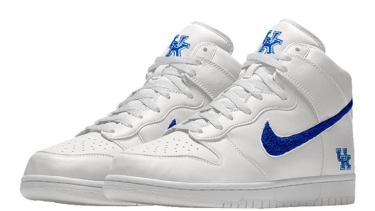 sale retailer 9a1a4 4c073 Nike releases customizable Kentucky kicks