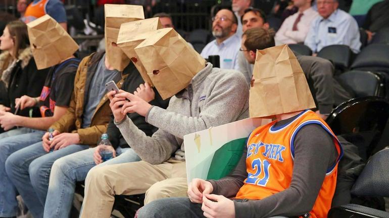 Knicks-fans