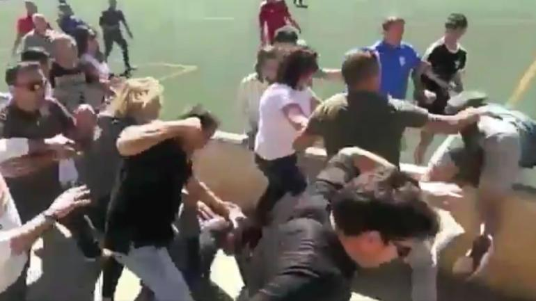 Huge Brawl Breaks Out During Youth Soccer Match Among