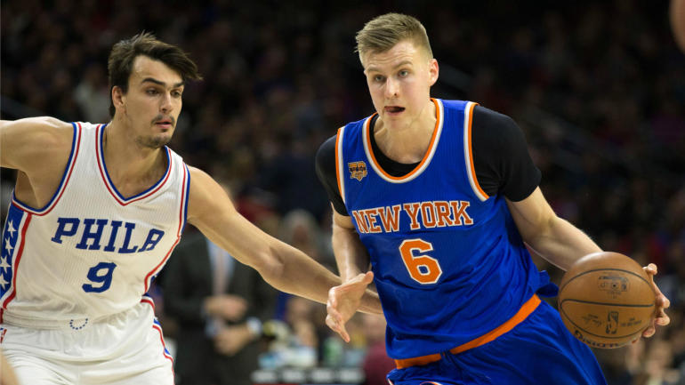 Sitting at 15 games under .500, Porzingis says Knicks are 'not that good of a team'