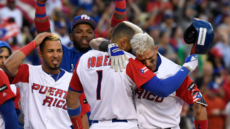 World Baseball Classic Scores Results Highlights Puerto Rico: Usa Puerto Rico Highlights At Usa Maps